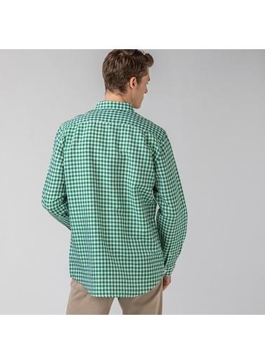 Lacoste Erkek Slim Fit Gömlek CH0053.53Y Yeşil